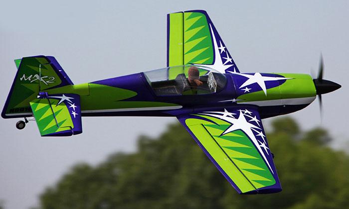 MX 2 Starmax rc Vliegtuig